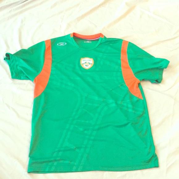promo code 970c6 412cb Ireland Soccer Shirt
